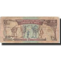 Billet, Somaliland, 20 Shillings = 20 Shilin, 1994, 1994, KM:3a, B - Somalie