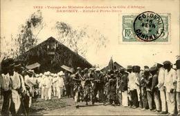 DAHOMEY - Carte Postale - Voyage Du Ministre Des Colonies Au Dahomey, Entrée à Porto Novo - L 53260 - Dahomey
