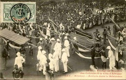 DAHOMEY - Carte Postale - Voyage Du Ministre Des Colonies Au Dahomey, Arrivée à Abomey - L 53261 - Dahomey