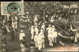 DAHOMEY - Carte Postale - Voyage Du Ministre Des Colonies Au Dahomey, Arrivée à Abomey - L 53262 - Dahomey