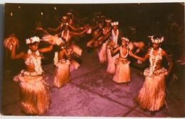 Carte Postale : TAHITI : Night Dance At Bali-Hai MOOREA, Danse Tahitienne, En 1972 - Tahiti