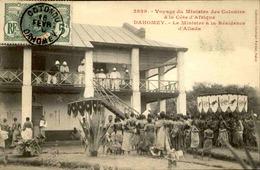 DAHOMEY - Carte Postale - Voyage Du Ministre Des Colonies Au Dahomey, Résidence D'Allada - L 53263 - Dahomey