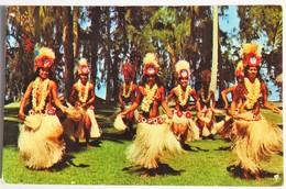 Carte Postale : TAHITI : Danses De Tahiti Avec Le Groupe Etoile HEIVA - Tahiti