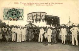 DAHOMEY - Carte Postale - Voyage Du Ministre Des Colonies à Allada - L 53265 - Dahomey
