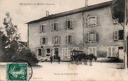 MARTIGNY LES BAINS-88-SALLE DE GYMNASTIQUE-CALECHE- - France