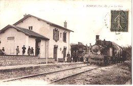 FR66 BOMPAS - Fau 1 - La Gare - Animée - Belle - France