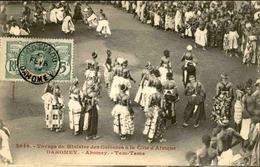 DAHOMEY - Carte Postale - Voyage Du Ministre Des Colonies - Abomey - Tam Tams - L 53268 - Dahomey