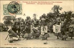 DAHOMEY - Carte Postale - Voyage Du Ministre Des Colonies - Groupe De Danseuses - L 53270 - Dahomey