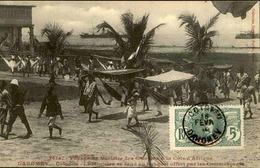 DAHOMEY - Carte Postale - Voyage Du Ministre Des Colonies à Cotonou - L 53271 - Dahomey