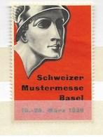 Basel Schweizer Mustermesse 1939 - Erinnophilie