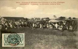 DAHOMEY - Carte Postale - Voyage Du Ministre Des Colonies Visitant Cotonou - L 53272 - Dahomey