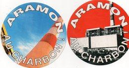 Lot Autocollant ARAMON AU CHARBON - Autocollants