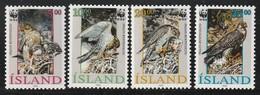 ISLANDE - N°729/32 ** (1992) OISEAUX / BIRDS - WWF - Ongebruikt