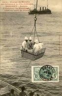 DAHOMEY - Carte Postale - Voyage Du Ministre Des Colonies à Cotonou - Le Ministre Est Hissé Au Treuil - L 53273 - Dahomey