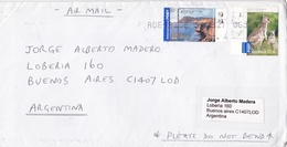 AUSTRALIA CIRCULATED ENVELOPE, TO BUENOS AIRES ARGENTINA CIRCA 1990's BY AIRMAIL -LILHU - 1990-99 Elizabeth II