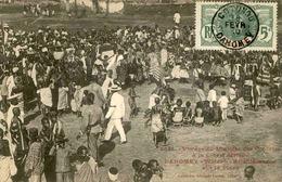 DAHOMEY - Carte Postale - Voyage Du Ministre Des Colonies - Réjouissements Sur La Place - L 53275 - Dahomey