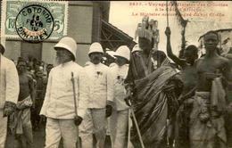 DAHOMEY - Carte Postale - Voyage Du Ministre Des Colonies Avec Le Roi Gi Gla - L 53276 - Dahomey