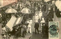 DAHOMEY - Carte Postale - Voyage Du Ministre Des Colonies à Porto Novo - L 53277 - Dahomey