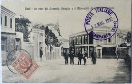 Rodi 02 - Grecia - Rodi - Rhodos - La Casa Del Generale Ameglio E Il Monopolio Di Tabacchi Siciliani - 1912 - Grecia
