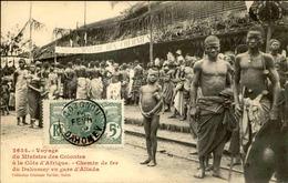 DAHOMEY - Carte Postale - Voyage Du Ministre Des Colonies à La Gare D' Allada - L 53279 - Dahomey
