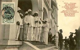 DAHOMEY - Carte Postale - Voyage Du Ministre Des Colonies à Cotonou Avant Le Banquet - L 53280 - Dahomey