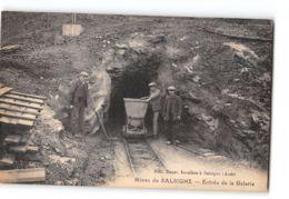 CPA 11 Mines De Salsigne Entrée De La Galerie - France