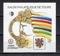 BLOC CNEP - ANNEE OLYMPIQUE -  1992 - Y&T  N° 15 - Neuf - Expositions Philatéliques