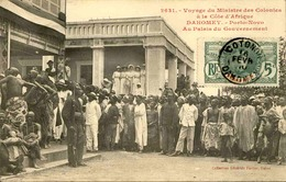 DAHOMEY - Carte Postale - Voyage Du Ministre Des Colonies Au Palis Du Gouvernement à Porto Novo - L 53281 - Dahomey