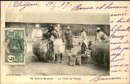 CÔTE D'IVOIRE - Carte Postale - Grand Bassam - La Traite De L 'Huile - L 53282 - Côte-d'Ivoire
