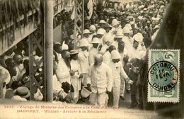 DAHOMEY - Carte Postale - Visite Du Ministre Des Colonies à Whidah - L 53283 - Dahomey
