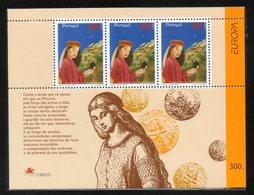 16 PORTUGAL 1997  Yvert HB 128 Michel HB 124 TT: Monedas,Sombreros, - 1910-... Republic