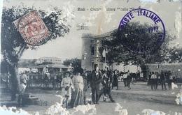 Rodi 05 - Grecia - Rodi - Rhodos - Circolo Militare Italia - 1912 - Grecia