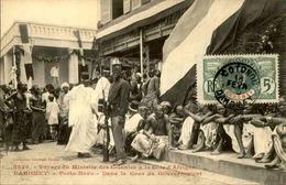 DAHOMEY - Carte Postale - Visite Du Ministre Des Colonies à Porto Novo à La Résidence Du Gouvernement - L 53284 - Dahomey