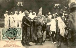 DAHOMEY - Carte Postale - Visite Du Ministre Des Colonies - Féticheurs - L 53285 - Dahomey