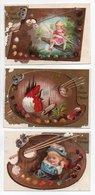 - 3 CHROMOS AU PETIT ST-THOMAS - EXPOSITION UNIVERSELLE DE PARIS 1878 - - Altri