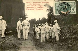 DAHOMEY - Carte Postale - Visite Du Ministre Des Colonies - Sakété - Visite Des Pépinières - L 53287 - Dahomey