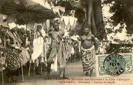 DAHOMEY - Carte Postale - Visite Du Ministre Des Colonies - Abomey - Danse Des Chefs - L 53288 - Dahomey