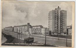 Pays  Bas :  Amsterdam , Zuider - Amstellaan M.  Wolkenkrabber  : Vue - Unclassified