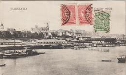 Pologne :  Warszawa  , Ogolny  Widok  ( Destinée à  Putanges ) ( écrite à  Porhousk  1911 ) - Poland