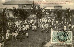 DAHOMEY - Carte Postale - Visite Du Ministre Des Colonies - Cotonou - Le Cortège En Ville - L 53291 - Dahomey