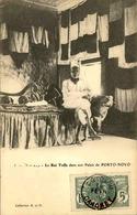DAHOMEY - Carte Postale - Cotonou - Le Roi Toffa Dans Son Palais - L 53292 - Dahomey