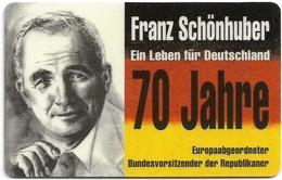 Germany - Protar - TAG - TAGF-25 - Die Republikaner - 06.93, 12DM, 5.000ex, Mint - Altri