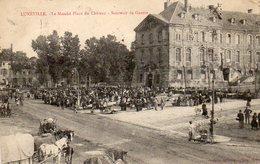 LUNEVILLE - LE MARCHE PLACE DU CHATEAU - Luneville