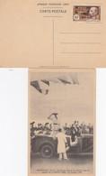 CARTE AEF. FRANCE LIBRE BRAZZAVILLE DE GAULLE. N°140A  / 2 - Lettres & Documents