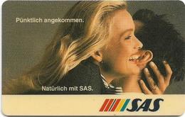 Germany - Protar - TAG - TAGF-30 - SAS Airlines - 02.94, 12DM, 4.000ex, Used - Germany