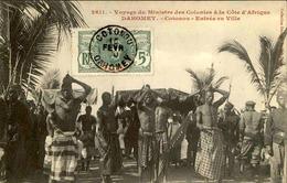 DAHOMEY - Carte Postale - Visite Du Ministre Des Colonies - Arrivée Dans La Ville De  Cotonou - L 53293 - Dahomey