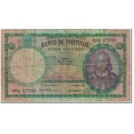 Billet, Portugal, 20 Escudos, 1954, 1954-05-25, KM:153a, TB - Portugal
