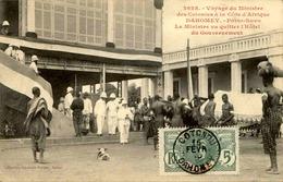 DAHOMEY - Carte Postale - Visite Du Ministre Des Colonies - Porto Novo - Le Ministre Sortant - L 53294 - Dahomey