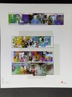 PORTUGAL MI-NR. 2385-226424 POSTFRISCH(MINT) KLEINBOGENSATZ DAS 20. JAHRHUNDERT(II) 2000 - Blocks & Sheetlets