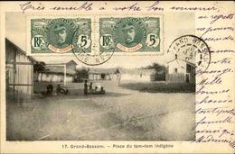 CÔTE D'IVOIRE - Carte Postale - Grand Bassam - Place Du Tam Tam Indigène - L 53295 - Côte-d'Ivoire
